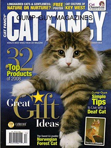 Cat Fancy Magazine December 2008 Norwegian Forest Cat