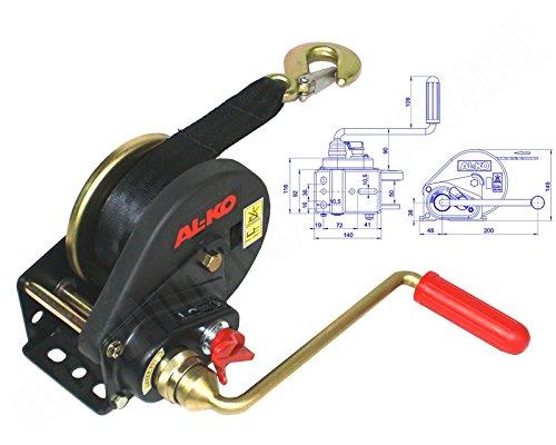 AL-KO ALKO Seilwinde Handwinde BASIC 450 A 450kg gebremst mit Abrollautomatik
