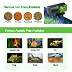 Torlam Auto Fish Feeder, Moisture-Proof Electric Auto Fish Feeder,Aquarium Tank Timer Feeder Vacation &Weekend 2 Fish Food Dispenser 14