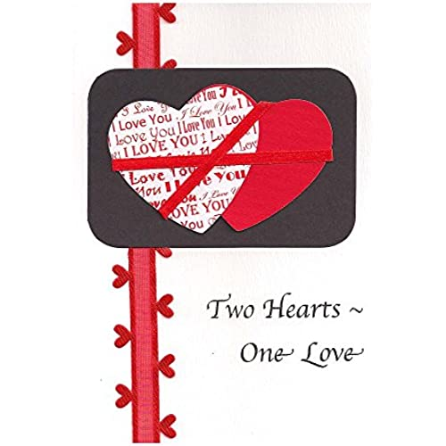 Two Hearts-One Love Card - Fair Trade & Handmade Sales