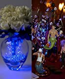 December Diamonds Sapphire Blue Submersible Fantasy Light Set String 36