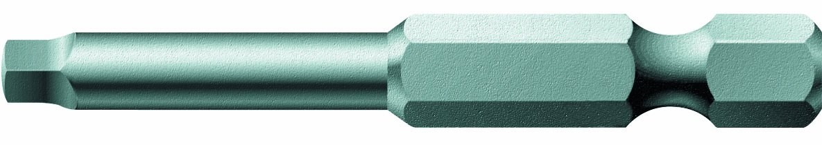 Wera Series 4 868/4 V Special Design Bit, Square Socket #2 x 50mm Blade (Pack of 10) 05060301001