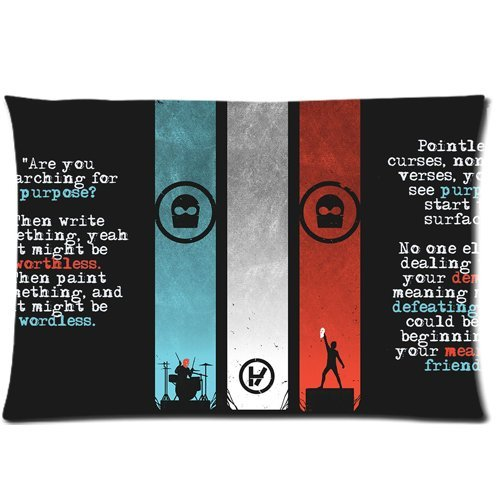 Twenty One Pilots Band Pillow Cases 20x30