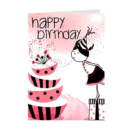 Giftsbymeeta Happy Birthday Greeting CardBirthday Card For Girlfriend FriendBirthday
