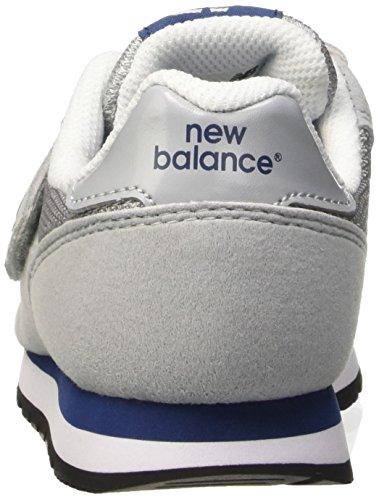 New Balance Kv373yby, Zapatillas de Gimnasia Unisex Niños Gris