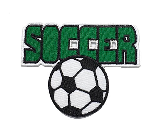 Soccer Football DIY Fashion Applique Embroidered Sew Iron on Patch p#369 - Soccer Ball Embroidered Iron