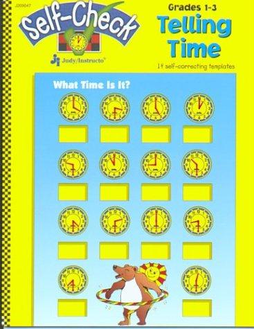 Telling Time: 14 self-correcting templates (Self-checks) pdf