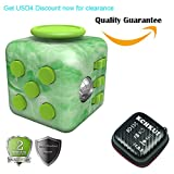 KCHKUI Fidget Cube Relieves Stress And Anxiety for Children and Adults Anxiety Attention Toy