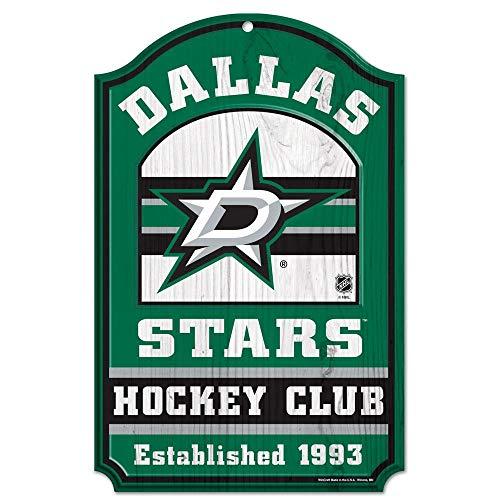 (Wincraft NHL Dallas Stars Wood Sign, 11