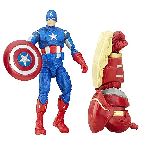 Marvel Legends Series Captain America 6 inch Exclusive Action Figure (Marvel Legends Series 8 Ultimate Captain America)