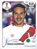 #8: 2018 Panini World Cup Stickers Russia #248 Paolo Guerrero Peru Soccer Sticker