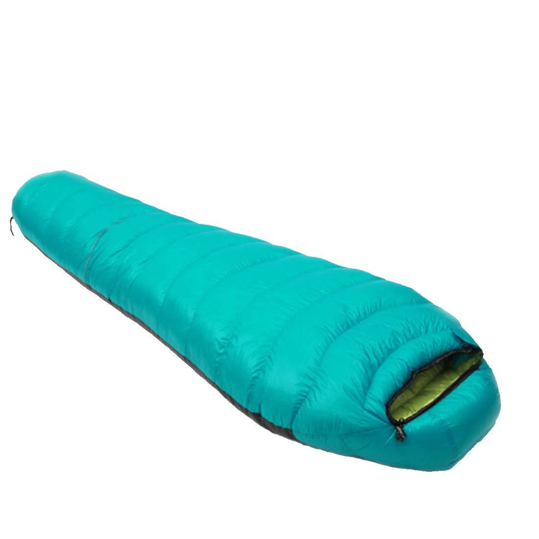 Igspfbjn Kompressions-Sack-Ultra Leichter Schlafsack für Das Kampieren (Farbe   Grün, Größe   1500g)