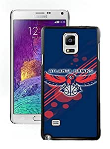 Beautiful Designed Case With Atlanta Hawks 12 Black For Samsung Galaxy Note 4 N910A N910T N910P N910V N910R4 Phone Case