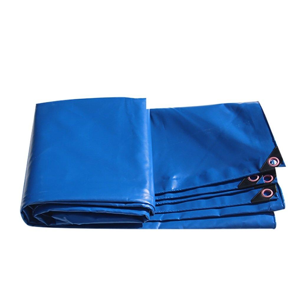 タータリン高強度厚い防水PVCトラック室区画貨物ヤードヤードテントクロス屋外0.35 mm 450 g/m2青14サイズ (サイズ さいず : 2*2m) B07DCQWLBR 2*2m  2*2m