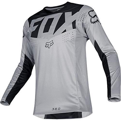 - Fox Racing 2019 360 Kila Jersey-Grey-XL