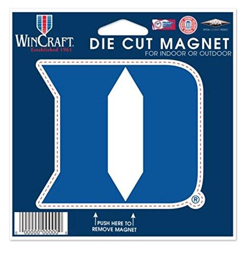 NCAA Duke University Blue Devils Color 4.5 x 6 Die Cut (Duke University Car)