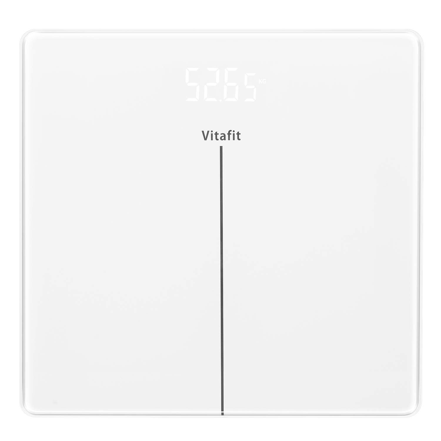 Vitafit Digital Body Weight Bathroom Scales Weighing Scales with Step-On