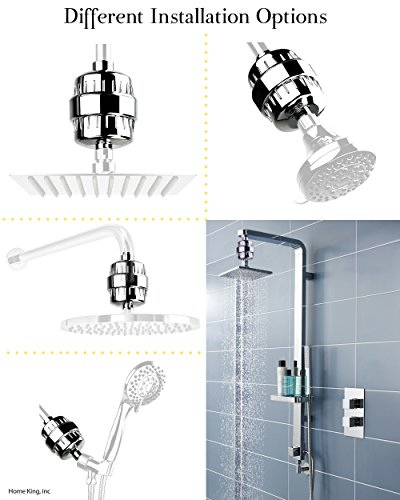 home king shower filter high pressure replacement cartridge 5 stage wat. Black Bedroom Furniture Sets. Home Design Ideas