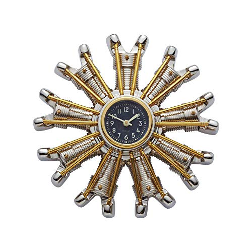 Pendulux, Wall Clock, Vintage Metal Wall Decor - classy metal wall clock