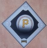 "Pittsburgh Pirates FATHEAD Team Baseball Diamond Logo Official MLB Vinyl Wall Graphic 16""x16"" INCH"