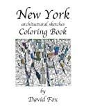 New York architectural sketches Coloring Book