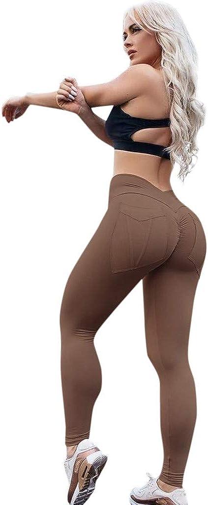 Star/_wuvi High Waist Yoga Pants,Womens Vintage Print Gym Workout Leggings Stretch Athletic Pants Yoga Tights