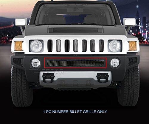 Fedar Lower Bumper Billet Grille Insert for 2006-2010 Hummer H3 ()