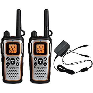 Motorola MU350R 35-Mile Range 22-Channel FRS//GMRS Two Way Bluetooth Radio Grey Discontinued by Manufacturer
