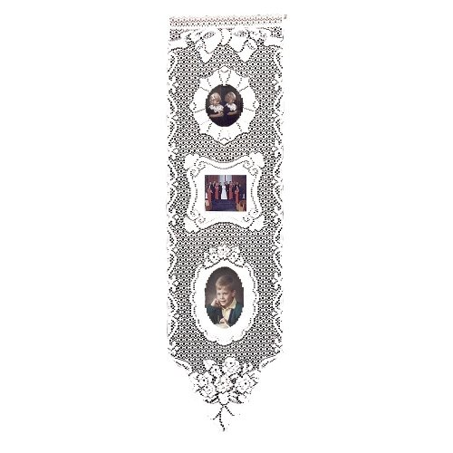Heritage Lace Picture Perfect 12-Inch by 38-Inch Wall Hanging, (Hanging Lace)