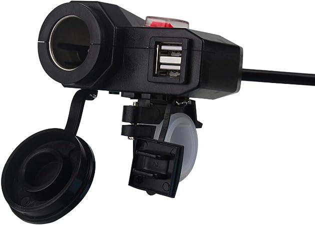 Dual Usb Charger Socket Car Auto Motor Vehicle Amazon Co Uk Electronics