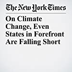 On Climate Change, Even States in Forefront Are Falling Short | Eduardo Porter