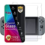 N-Joy Tech Nintendo Switch Screen Protector. Awarded Tempered Glass. Original 2 Premium Toughened Glass Pack. Thin Dock Friendly