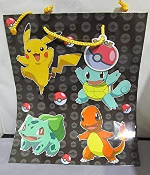 Pokemon BOLSA DE REGALO: Amazon.es: Oficina y papelería