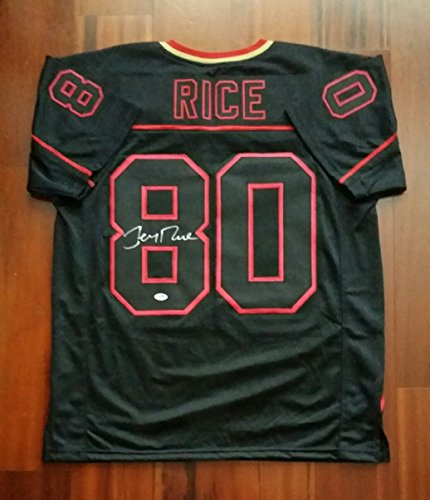 Jerry Rice Autographed Signed Jersey San Francisco 49ers PSA - Jerry Jersey Signed Rice