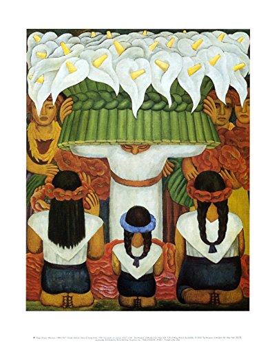 Casa Art Shop Diego Rivera Flower Festival: Feast of Santa Anita, 1931
