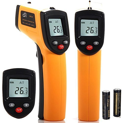 Generic Non - Contact Infrared Thermometer Upgraded Version - 50 to 420 Degrees High Resolution LCD Screen
