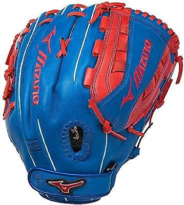 "Mizuno GMVP1300PSEF5 13/"" Royal Blue Red MVP Prime SE5 Fastpitch Softball Glove"