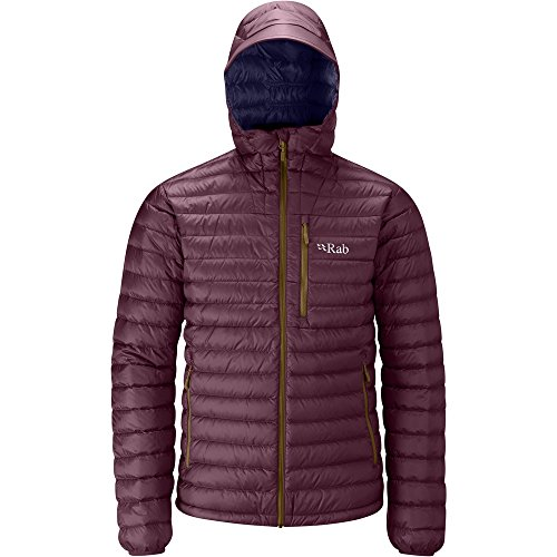 Rab Men's Microlight Alpine Jacket Rococco Deep Ink