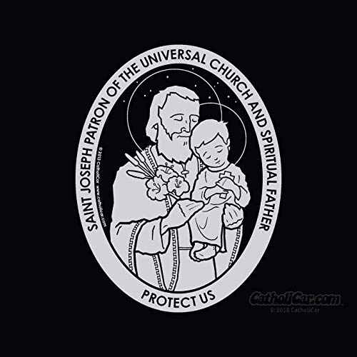 CatholiCar St. Joseph Decal