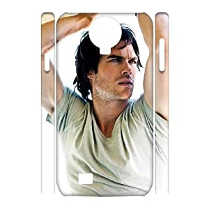 Hot Sale 3D Customized Phone Case for SamSung Galaxy S4 I9500 - Ian Somerhalder Custom Cover Case JZQ-921583