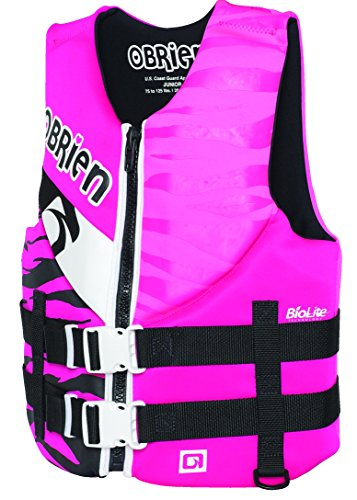 Junior Girls Ski Jacket - O'Brien Girls Junior Neoprene Life Vest
