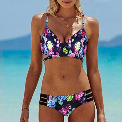 Bikinis Mujeres jovencitas Las Bra Mujer para Feixiang Usar 2018 Bohemia de Empujar Playa Multi Bikinis hasta Bikinis 0ZwIpwqS