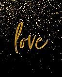 """Love: 8"""" x 10"""" Bible Study Journal / Notebook"""