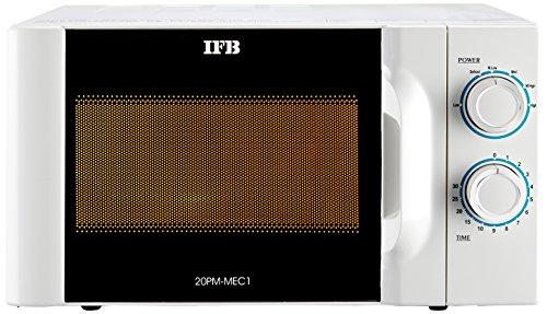 IFB 20 L Solo Microwave Oven (20PM-MEC1, White)