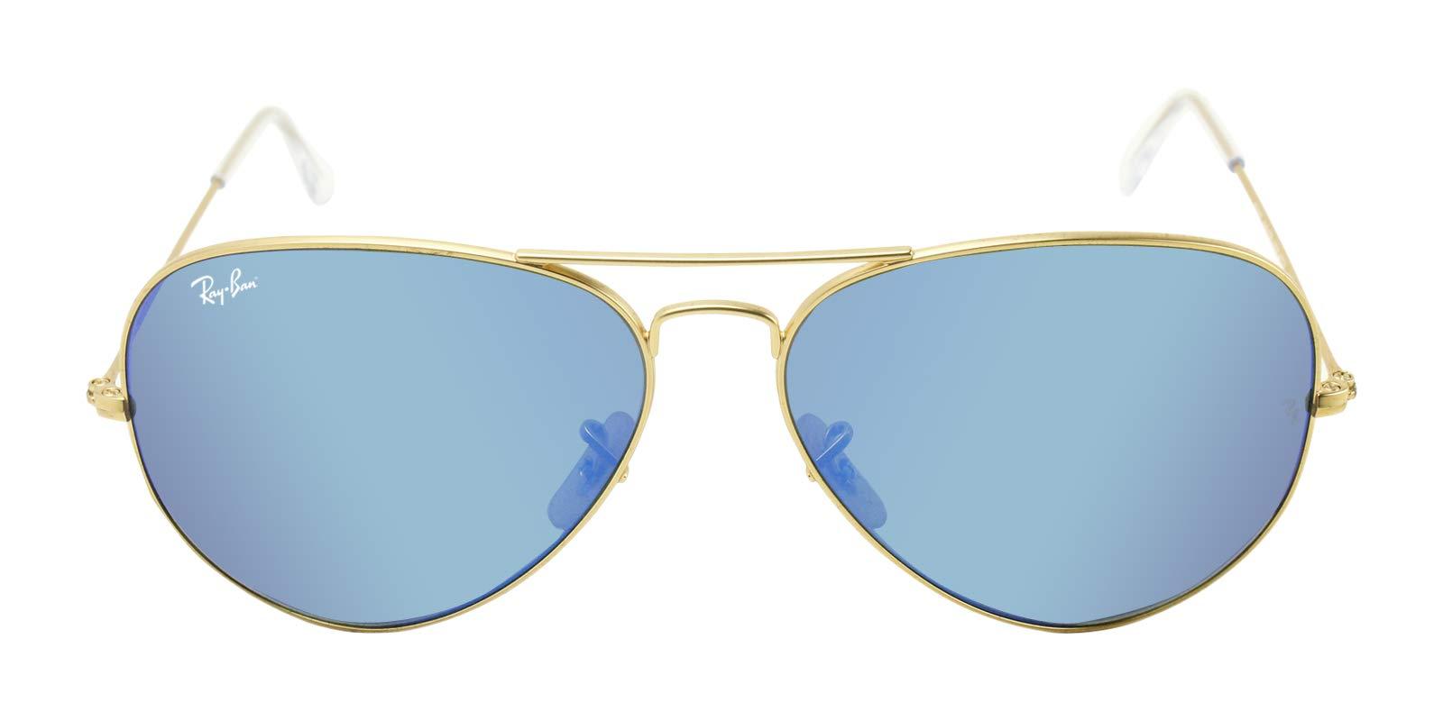 Ray-Ban RB3025 Unisex Aviator Sunglasses Mirrored