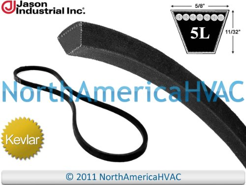 "N120289 - John Deere Super Heavy Duty Kevlar Aramid All Purpose V-Belt 5L1200 5/8"" x 120"""