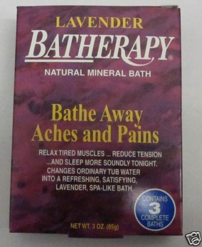 Batherapy Mineral Salts (Queen Helene - Batherapy Natural Mineral Bath Lavender - 3 oz.)