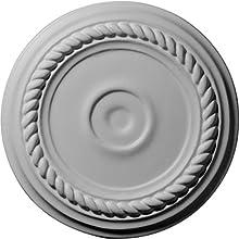 Ekena Millwork CM07AL 7 7/8-Inch OD x 1 1/8-Inch ID x 3/4-Inch Small Alexandria Ceiling Medallion