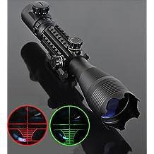 Higoo® Telescopic Sight 4-16x50EG Green/Red Hunting Rifle Scope LLL(low light level) Night Work