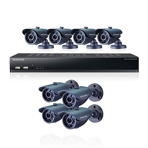 Samsung SDS-V5080 16-Channel DVR Security System